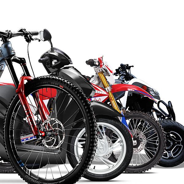 veicoli - bici scooter moto quad